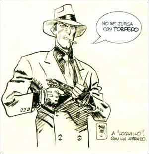 O fato de Torpedo aparecer no CD sem o crédito de Sanchez Abuli causou a indignação do autor