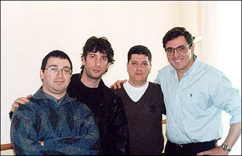 Sérgio Codespoti, Neil Gaiman, Marcelo Naranjo e Sidney Gusman