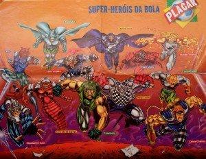 Super-heróis da bola Revista Placar