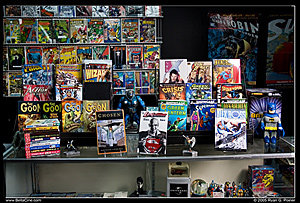 A Comic Shop