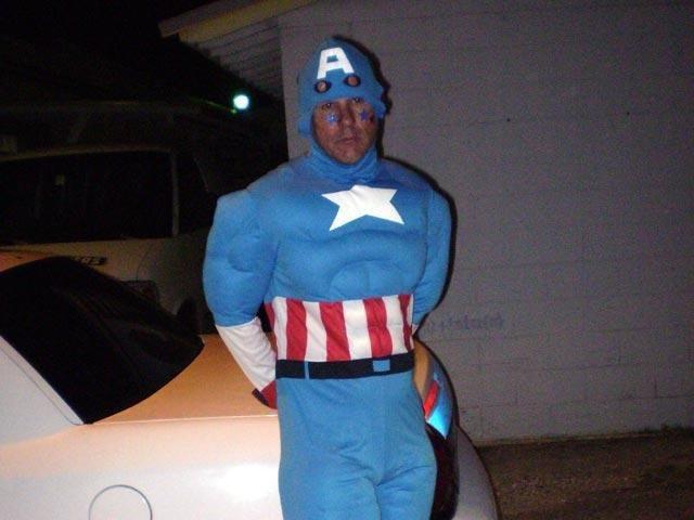 Capitão América preso