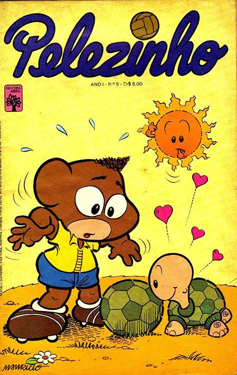 Pelezinho # 5 - Editora Abril