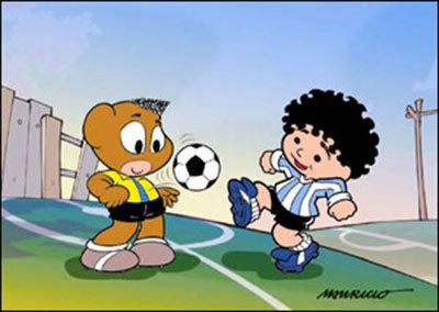 Pelezinho e Maradona