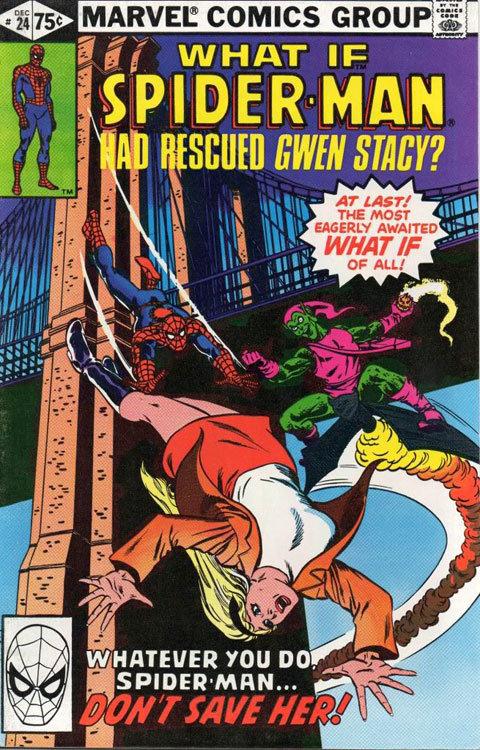 O Que Aconteceria se o Homem-Aranha salvasse Gwen Stacy?