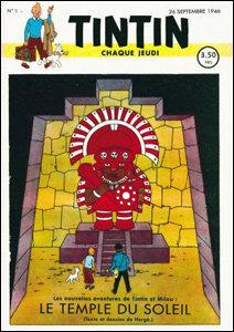 Tintin - Le Temple du Soleil