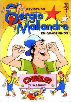 Revista do Sérgio Mallandro em quadrinhos