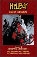 Hellboy - Edição Histórica - Volume 5 - Máscaras e monstros