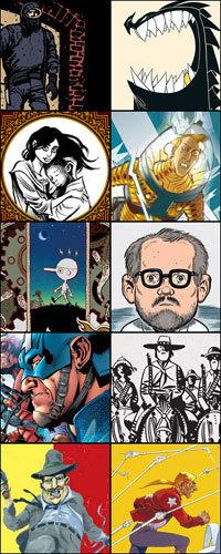 Os melhores quadrinhos de 2012