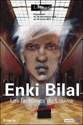 Enki Bilal no Museu do Louvre