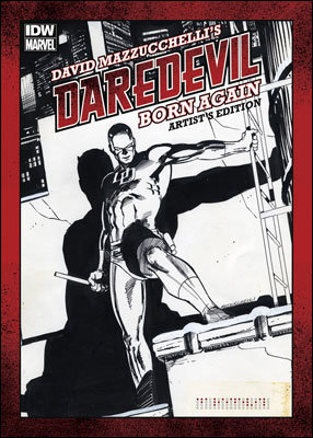 David Mazzucchelli's Daredevil Born Again - Artist's Edition