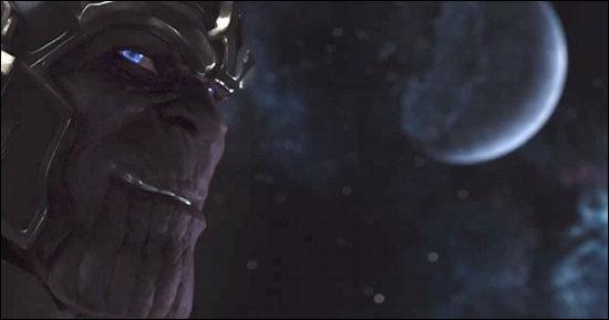 Thanos em Os Vingadores