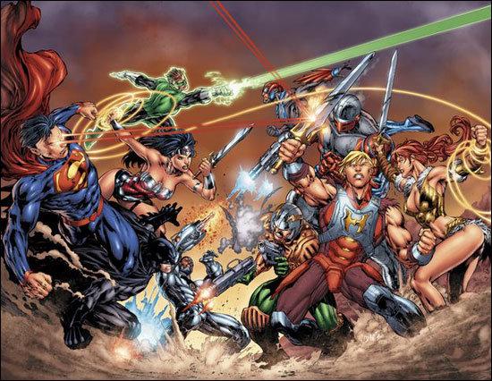 He-Man vs. Liga da Justiça