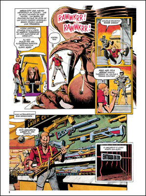 Juiz Dredd Megazine # 1