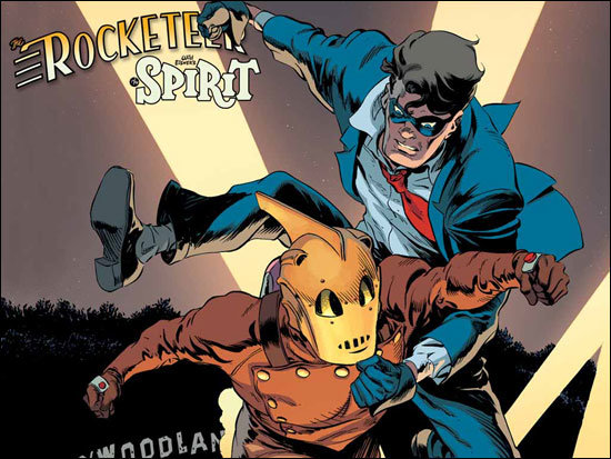 The Rocketeer/The Spirit - Pulp Friction