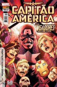 Capitão América & os Vingadores Secretos # 19