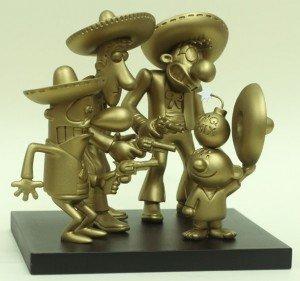 Troféu em homenagem aos Los Três Amigos