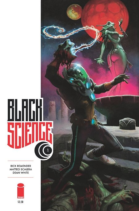 Capa de Black Science #1