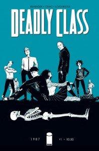 Capa de Deadly Class #1