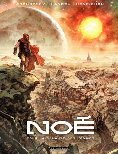 Capa de Noé #1 (edição francesa)