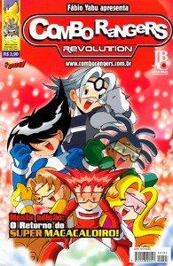 Combo Rangers Revolution # 3