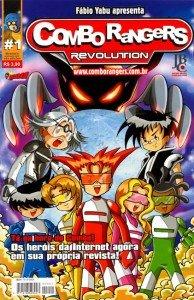 Combo Rangers Revolution # 1