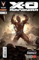 X-O Manowar # 2 - Capa A
