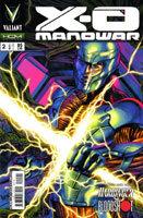 X-O Manowar # 2 - Capa B