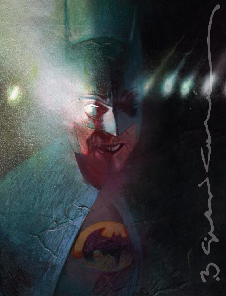 Sketchbook de Bill Sienkiewicz