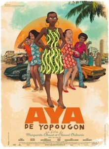 Cartaz de Aya de Yopougon