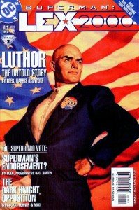 Lex Luthor presidente