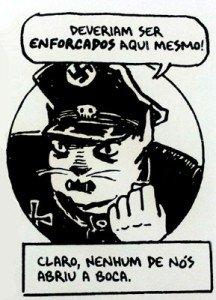 Em Maus, alemães eram retratados como gatos