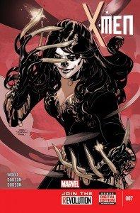 X-Men # 7, de Brian Wood e Terry Dodson