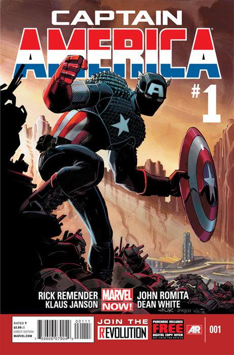 Capa de Captain America # 1