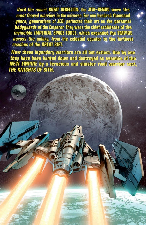 Página de The Star Wars # 1