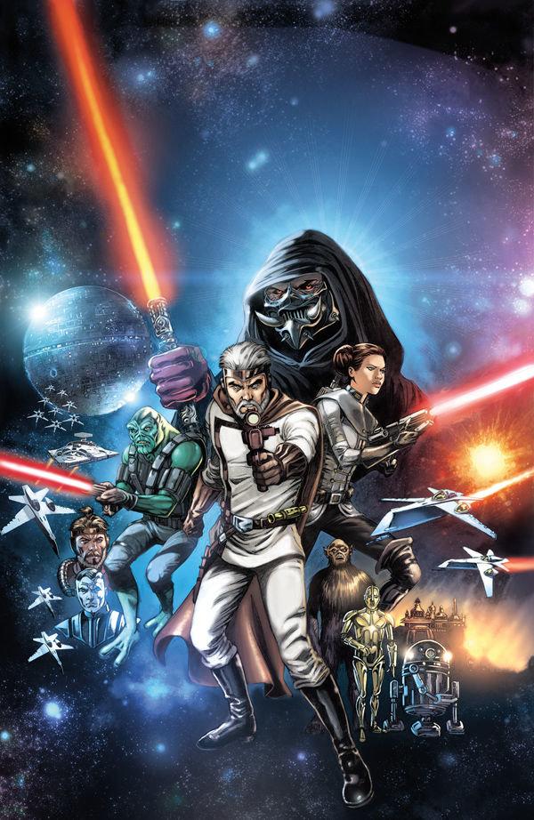 Capa de The Star Wars # 1, de Jan Duursema