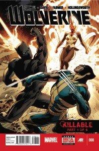 Capa de Wolverine # 8, de Alan Davis