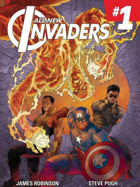 All-New Invader # 1
