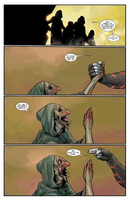 Página de Justice League # 23.2 – Lobo