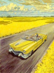 Arte de Blacksad - Amarillo