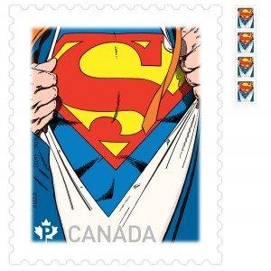 Selo do Superman com arte de John Byrne