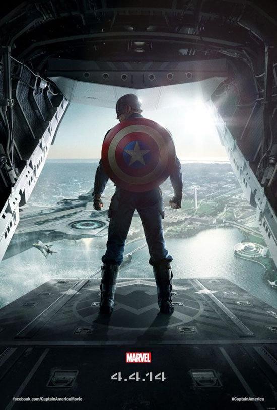 Cartaz de Capitão América - O Soldado Invernal