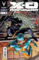 X-O Manowar # 5 - capa variante
