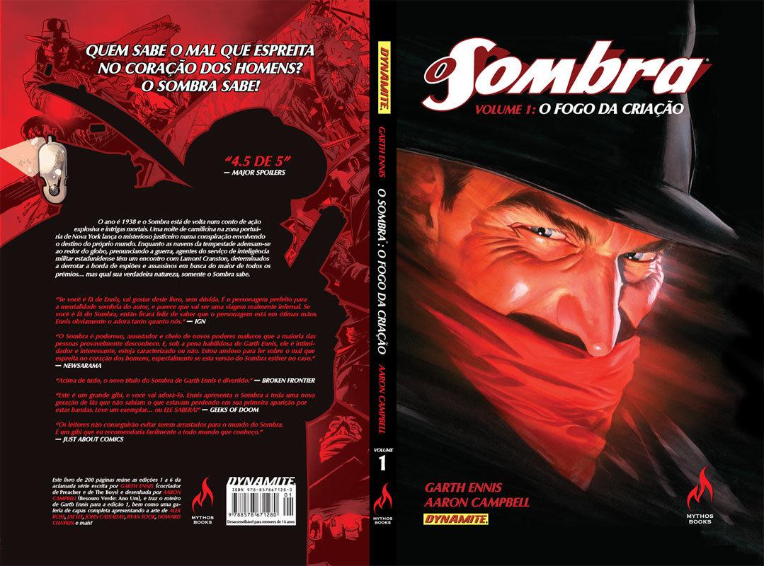 6b2af5d73c7 Primeiro encadernado do Sombra chega às livrarias neste mês ...