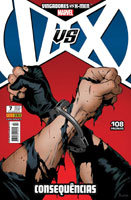 Vingadores vs X-Men # 7 - capa variante