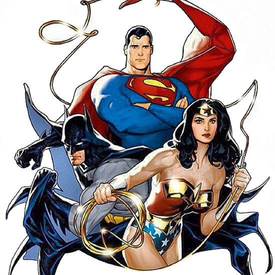 Superman, batman e Mulher-Maravilha
