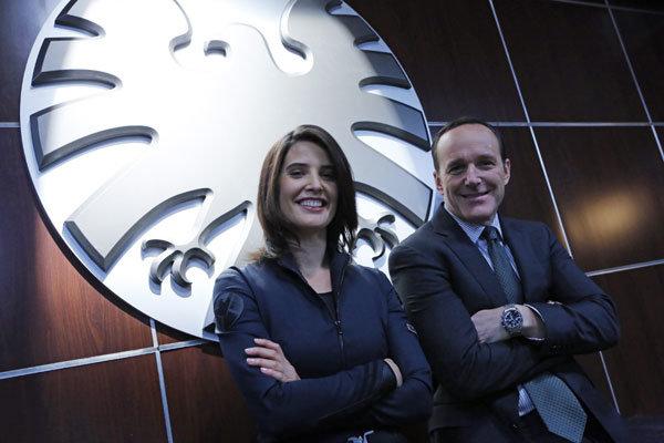 Cobie Smulders e Clark Gregg