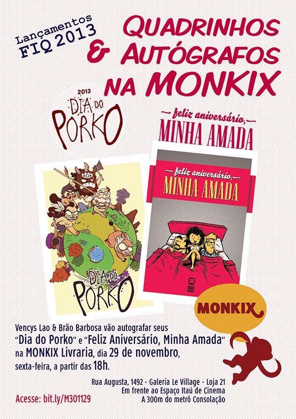 Evento na Monkix