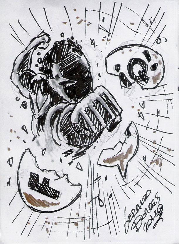 Arte de Geraldo Borges
