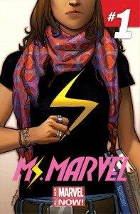 Capa de Miss Marvel # 1