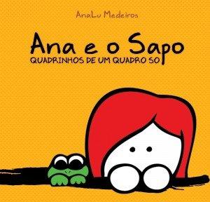 Ana e o Sapo – Quadrinhos de um quadro só
